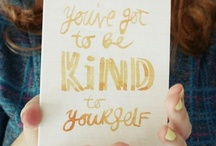 words to live by / by Courtney Good
