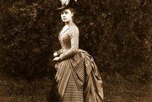 Moda mujeres siglo XIX, el polison