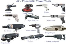 Air Tools / Die Grinders, Impact Wrenches, Air Ratchets, Sanders and Polishers