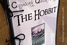 Homeschool Unit - Hobbit / Homeschool unit for The Hobbit book