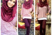 scarfs/hijabs