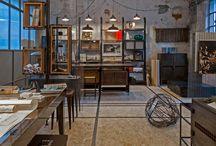 Fucina Metal Art & Design - opificio / Allestimento di Fucina Metal Art & Design in un vecchio affascinante opificio nella Brianza Lecchese.
