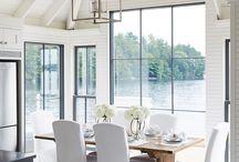 ➳ { Dining }  Room Designs