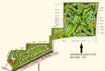 antriksh golf city noida layout plan