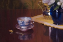 Art Board: Still (Quiet) Life / Assorted paintings, drawings and mixed media of still life