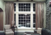 Draperies / Draperies and curtains are a way to add color and texture to a room. They can also be layered with blinds or shades. Bellagio Window Fashions - https://plus.google.com/+BellagioWindowFashionsToledo / by Window Treatments