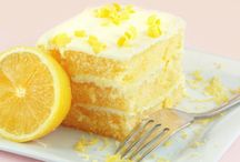 Lemon Desserts / When life gives you lemons…bake something delicious! Citrus adds a spark to these cakes, cookies and cupcakes—perfect when you need a sunny pick-me-up.