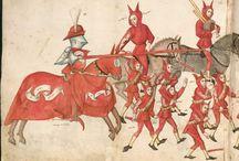 Образцы рисовки для старинной книги