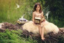 Fairytale childrens portrait