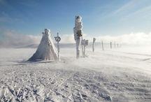 Krkonoše v zimě / Krkonose mountains in Winter  / by OREA HOTELS