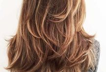 lang haar met veel lagen