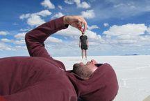 Efectos fotográficos en el Salar de Uyuni