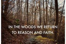 Hiking, Hunting, & the Outdoors  / In the woods we return to nature & faith :) / by Julie Leona