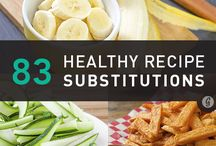 Healthy substitutions / Solutions for when your cravings are not so nice