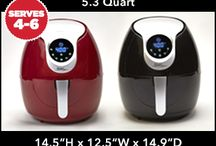 Power AirFryer XL / Cook all your favorite fried foods with little to no oil in the Power AirFryerXL!