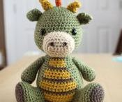 Crochet stuffed toys and doll clothes / by Jay Gilly