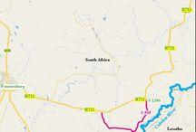 Clarens Maps & Info - Caledon Loop