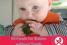 Babies First Foods/Toddler Meals