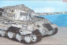 Modell Panzer und Flugzeuge