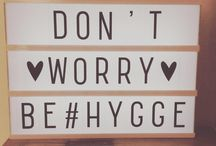 hygge / cocooning