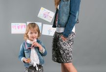 GRAY FLOWERS SKIRTS - the same for mom and doughter / Matching mommy and daughter outfits. Set of two cotton skirts in muted tones of gray. Convenience guaranteed by a wide welt at the waist, so that you can adjust the length. Skirt adapts and grows with the child and mom forgives extra inches at the waist.  http://www.thesame.eu  #skirt #flowery skirt #fashion #kids #mother #thesame #polishfashion #kidsfashion #womanfashion #momandchild #girlfashion #stylishkids #stylishmother #stylish #momanddoughter