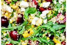 Healthy lunches / Healthy lunch ideas, both for days at home and to bring to school.