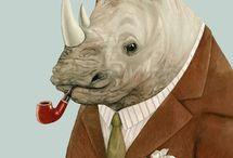 me ❤ rhinos