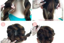 Braided Bun / by Cassandra Andonian