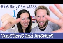 English language / Resources for ESL learners. / by Yessica Vargh