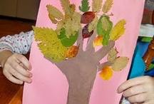 HS: Leaves, Ll, Red, Orange