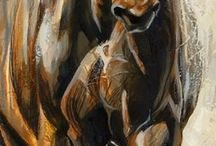 animal paintings, drawings and illustrations.... / by Jolanda Toonstra
