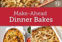Make Ahead Meals ❤