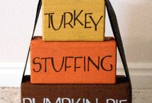 Thanksgiving decor to make