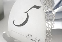 Reception (Pistachio Designs) / http://www.pistachiodesigns.co.za/stationery/