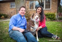Engagement Photo Session in Chicago Suburbs
