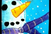 lumiukko lähikuvassa