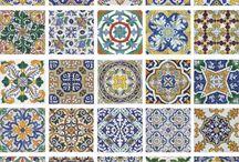 Tiles / Fliser, Tiles, dekor