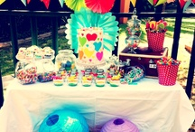 Pretty Things For You Rainbow Party / A party we recently did for a little girl turning 5 years new