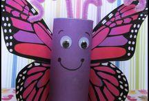 birds & butterflies theme