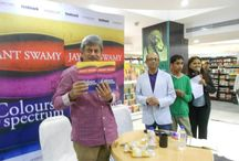 Colours In The Spectrum / Leadstart Publishing's ' Colours in the Spectrum' was launched at Landmark Bookstores, Bangalore by acclaimed actor, Anant Nag. The fun filled evening saw a host of people attending