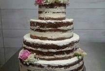 Torty Weselne / Przepiękne torty weselne tradycyjne- śmietanowe lub kremowe- oraz pokryte masą cukrową
