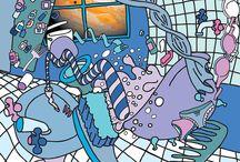 Pop Art, Comic Art, Comics and Comic Artists