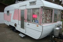 Vintage Traveleze Camper / by Brianna Holifield
