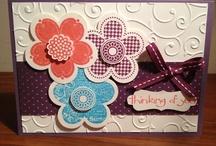 Stamping Cards I've Made