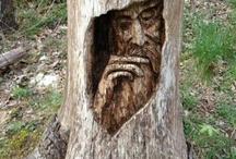drevo sochy & napady