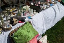Op de markt / Zo af en toe staan we op een markt met een kraampje. Zoals op de braderie van het Zomerfeest Passewaaij (21/6)