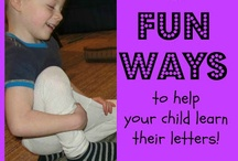 Literacy - ways for parents to help at home / Some ideas and games that you can do with your children at home
