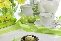 Easter tables