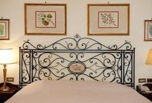 Wrought iron beds / Classic models and contemporary shapes represent the two main lines of our wrought iron Bedhead collections.