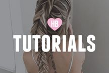 Tutorials / Making it easy for you to create a perfect hairstyles.  Start your journey to longer, healthier hair from www.hairburst.com